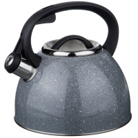 Чайник со свистком, 2,5 л, нержавеющая сталь,