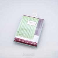 Занавеска для ванной комнаты Basic зелёная 200х180