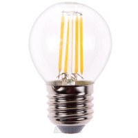 Лампа светодиодная, (7W) 230V E27 4000K,