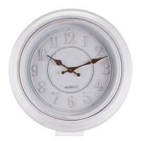 Часы настенные, Круг 6490, d30см, пластик, белый
