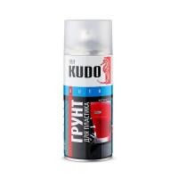 Грунт эмаль специальная д/пластика аэрозольная акриловая KUDO