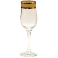 Набор бокалов для шампанского ГУСЬ ХРУСТАЛЬНЫЙ Ампир,