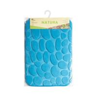 Коврик для ванной LOTTI NATURA синий, 40х60