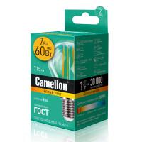 Лампа светодиодная F LED Camelion G45 FL/830/E14