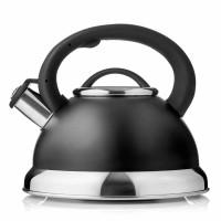 Чайник Esprado Onix, 2,2л, нержавеющая сталь, черный,