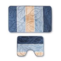 Набор ковриков для ванной и туалета LOTTI