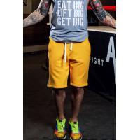 Желтые спортивные шорты shm.010.32.03
