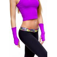 Рукава средние фиолетовые