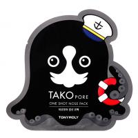 TONY MOLY Патч для носа / TAKOPORE