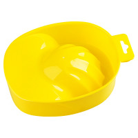 IRISK PROFESSIONAL Ванночка пластиковая для маникюра, 10 желтая