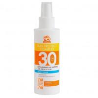 SOLBIANCA Молочко спрей солнцезащитное водостойкое для лица
