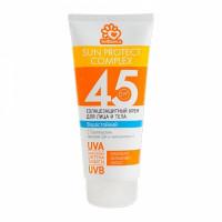 SOLBIANCA Крем солнцезащитный водостойкий для лица