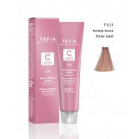 TEFIA Т9.25 краска тонер для волос, очень светлый