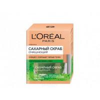 L'Oreal, Скраб для лица сахарный очищающий,
