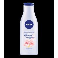 Nivea, Молочко уход для тела Цветок сакуры,