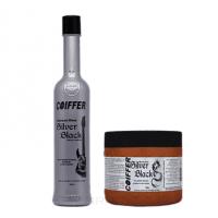 Coiffer, Black Silver Набор для увлажнения