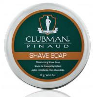 Clubman, Натуральное мыло для бритья Shave Soap,