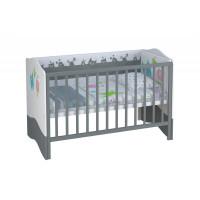 Детская кровать Basic монстрики