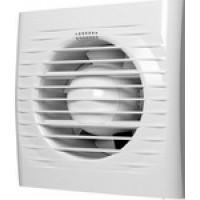 Вентилятор осевой с обратным клапаном и тяговым