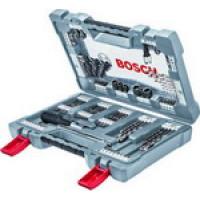 Набор бит и сверл + отвертка Bosch
