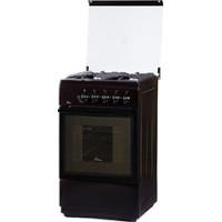 Газовая плита Flama FG 24022 B коричневый