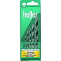 Набор спиральных сверл Heller TD 28817
