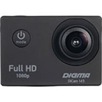 Экшн камера Digma DiCam 145 черный