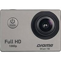 Экшн камера Digma DiCam 150 серый
