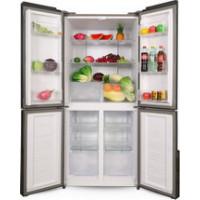 Многокамерный холодильник Ginzzu NFK 500 белое стекло