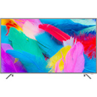 4K (UHD) телевизор Hyundai H LED55EU7001 стальной