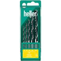 Набор спиральных свёрл по дереву Heller