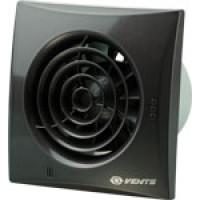 Вытяжной вентилятор Vents 100 Quiet черный сапфир