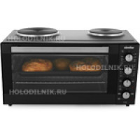 Настольная плита Simfer M 4040 черный
