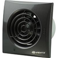 Вытяжной вентилятор Vents 150 Quiet черный сапфир
