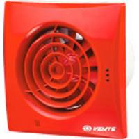 Вытяжной вентилятор Vents 100 Quiet красный