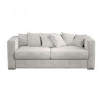 Двухместный диван  Lounge светло серого цвета