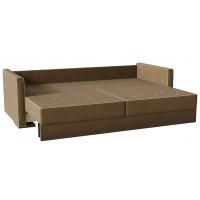 Диван кровать харлем Brown коричневого цвета
