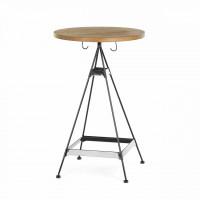 Барный стол Satai из металла и дерева