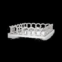 Поднос Vonk Chain серебряного цвета