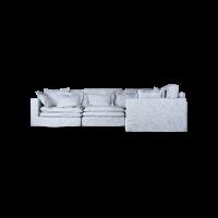 Модульный диван Hogsmill светло серого цвета