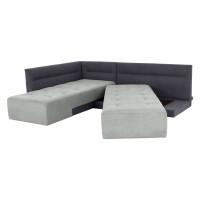 Угловой диван кровать London с поворотным механизмо