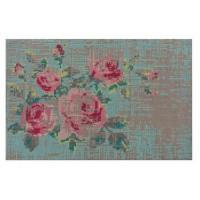 Стильный ковер Flowers с флористичным рисунком 80x145