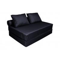 Диван кровать с валиком и двумя подушками