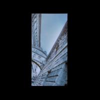 Картина Grey Venice из трех частей 40х80