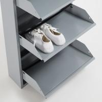 Тумба для обуви Rox серого цвета