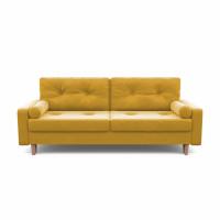 Диван кровать дэн желтого цвета