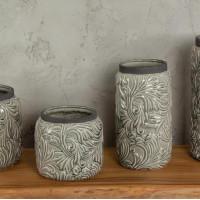 Ваза декоративная фрост s из керамики