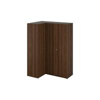 Шкаф Uno угловой левый коричневого цвета