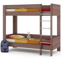 Двухъярусная кроват ника 80х200 цвета ясень шимо