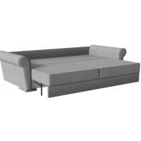 Диван кровать прямой челси серого цвета